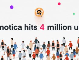 4 millions users Animotica